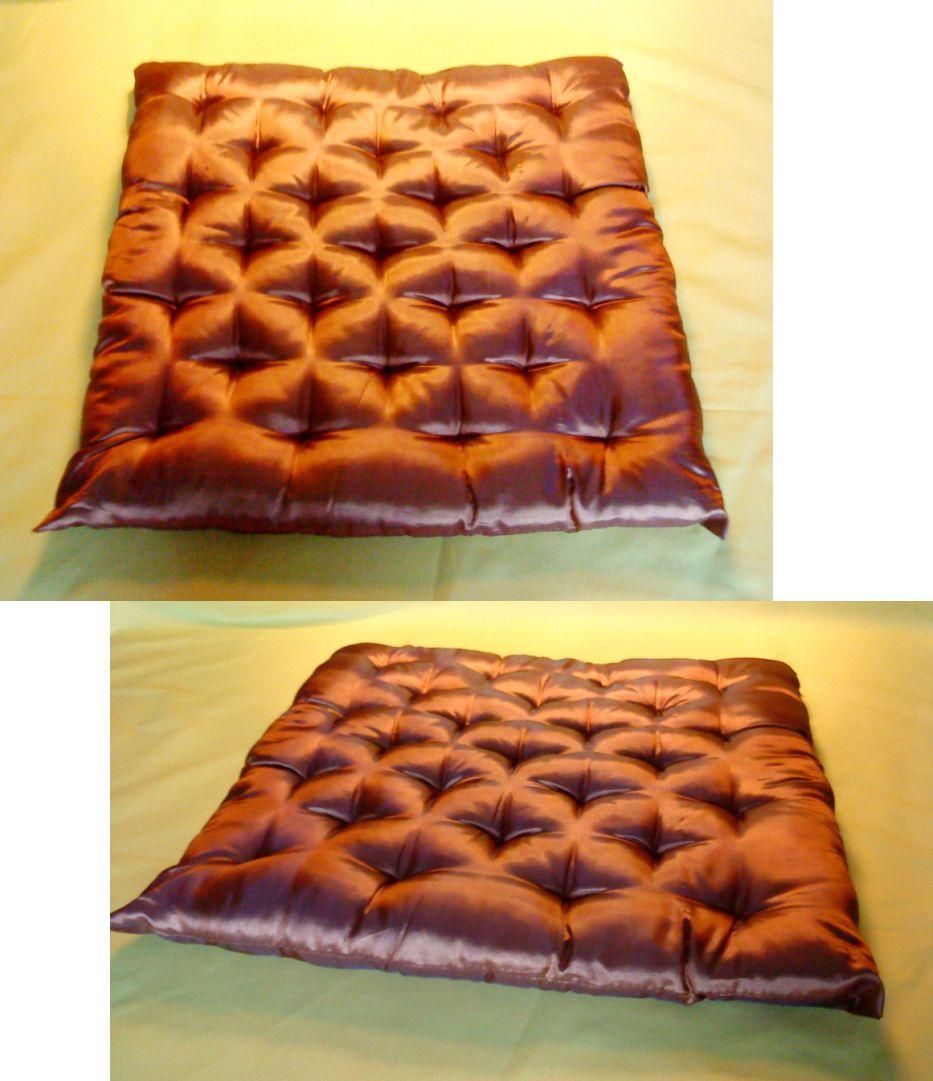 sitzkissen f r boden stuhl polster futon kissen rot 01 ebay. Black Bedroom Furniture Sets. Home Design Ideas
