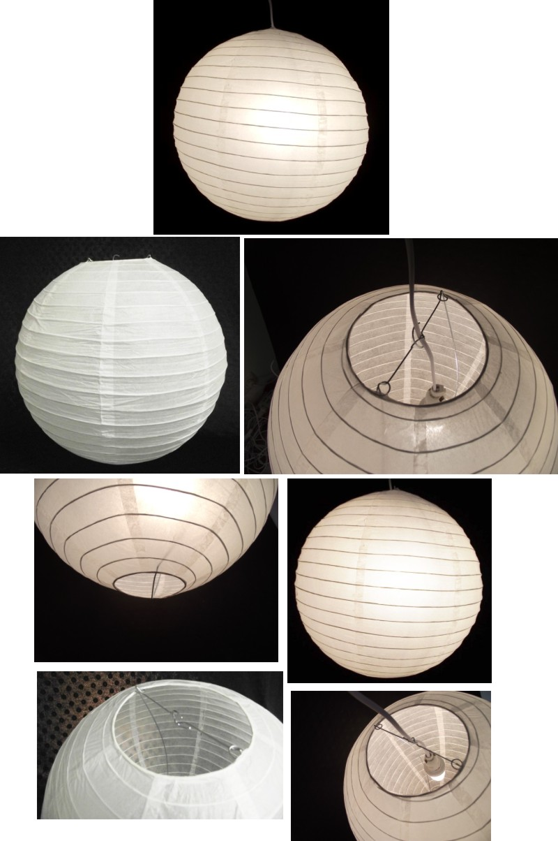 lampenschirm papier lampion wei kinder lampe h ngelampe deckenleuchte ball ebay. Black Bedroom Furniture Sets. Home Design Ideas
